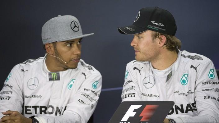 Lewis Hamilton, Nico Rosberg, Formel 1