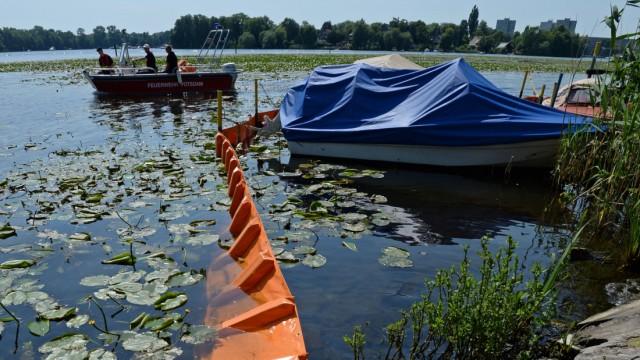 Ölunfall auf der Havel
