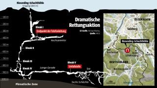 "Riesending-Höhle ""Riesending"" im Berchtesgadener Land"
