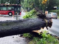 Unwetter in Nordrhein-Westfalen