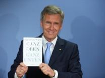 Christian Wulff stellt Buch vor