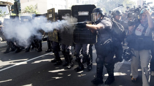 wm brasilien sao paolo protest