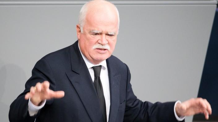 Peter Gauweiler im Bundestag