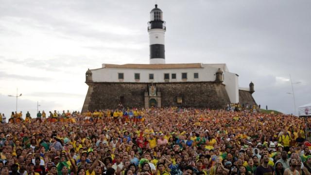 Fußball-WM, Public Viewing, Salvador