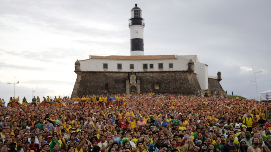 Fußball-WM, Public Viewing, Salvador
