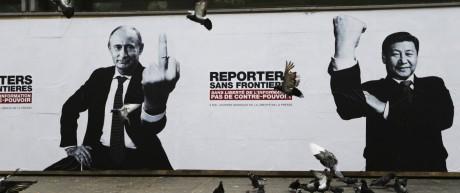 Umbruch in der Ukraine Propaganda aus Russland