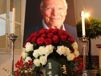 Trauerfeier für Karlheinz Böhm in Salzburg