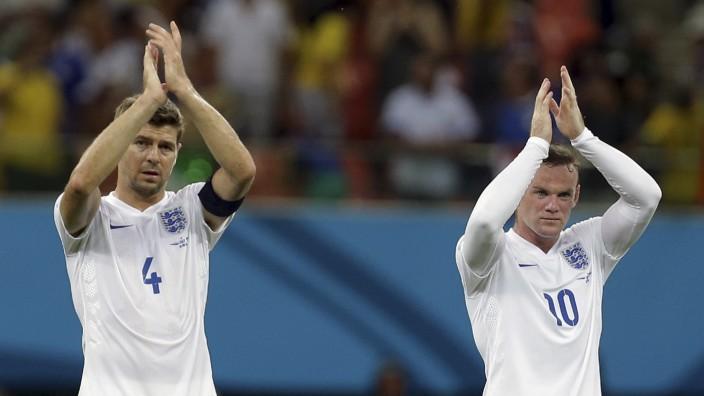 Gerrard, Wayne Rooney