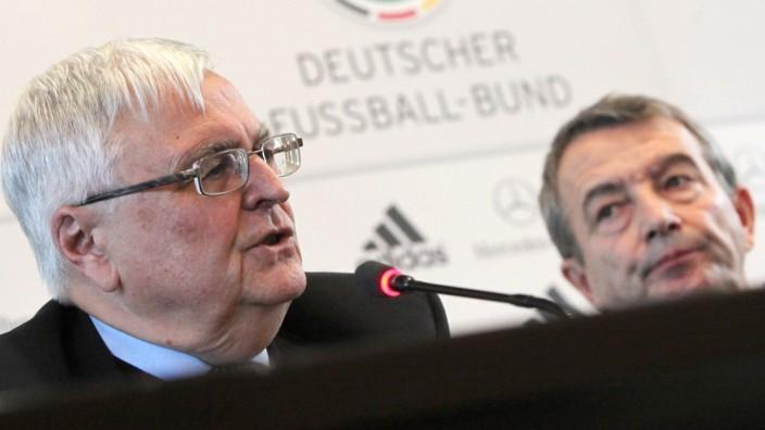 World Cup 2014 - Niersbach und Zwanziger