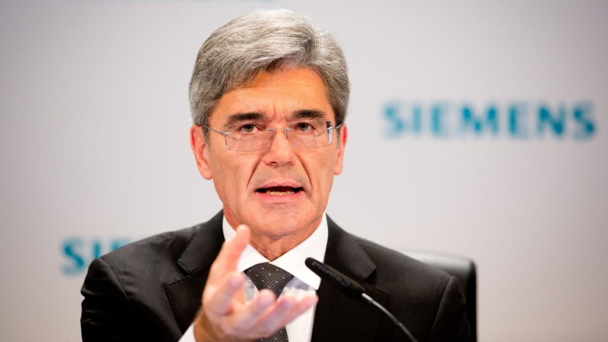 Siemens stellt die Weichen