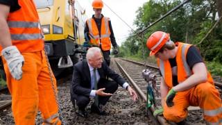 Bahnchef Grube nach Unwetter