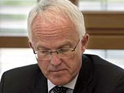 Nordrhein-Westfalens Ministerpräsident Jürgen Rüttgers