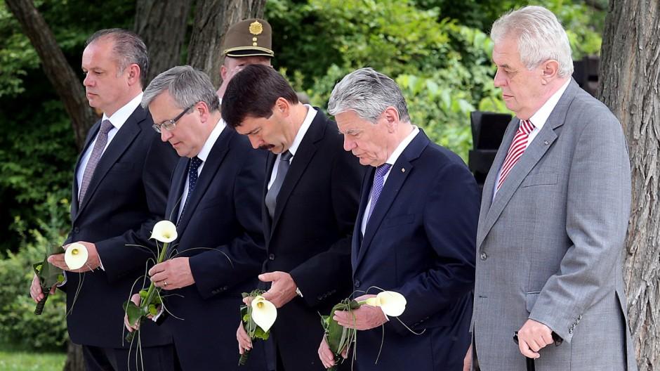 Gauck in Ungarn