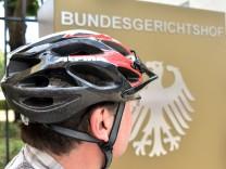 Bundesgerichtshof verhandelt im Fahrradhelm-Streit
