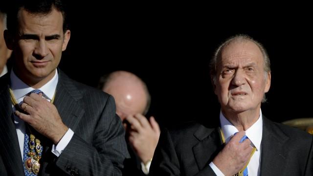 Spanisches Königshaus Thronwechsel in Spanien
