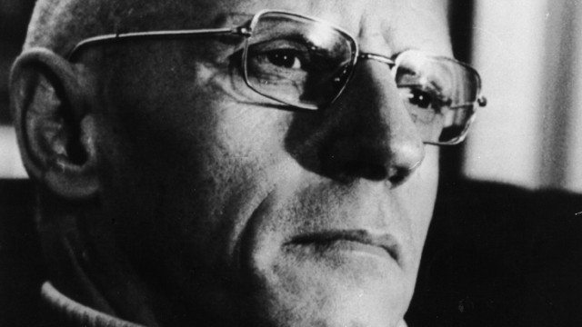Michel Foucault, ca. 1981