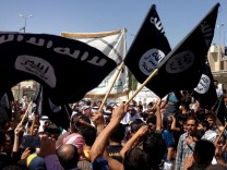 Isis-Anhänger in Mossul