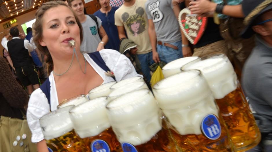 Oktoberfest-Bier über 10 Euro.
