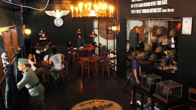 Kriminalität Nazi-Café in Indonesien