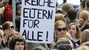 Proteste gegen Studiengebühren; ddp