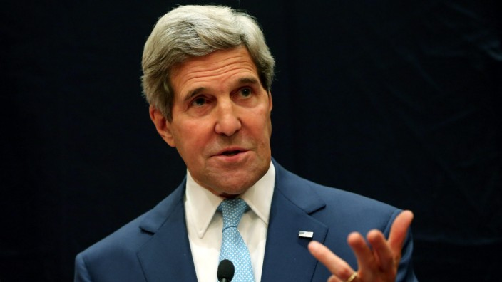 US Secretary of State Kerry in Egypt to discuss political transit