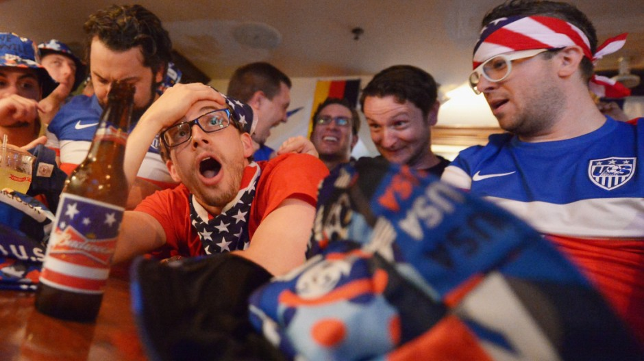 The United States Celebrates The World Cup in Brazil