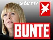 Patricia Riekel, Bunte, Stern, Fotos: AFP, AP, dpa, Grafik: sueddeutsche.de