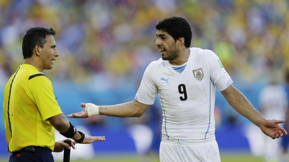 Fifa ermittelt gegen Luis Suárez aus Uruguay
