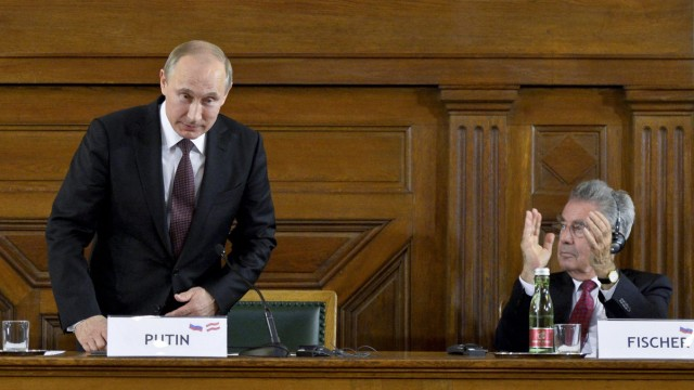 Russian President Vladimir Putin visits