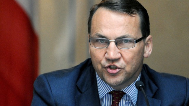 Polens Außenminister Sikorski