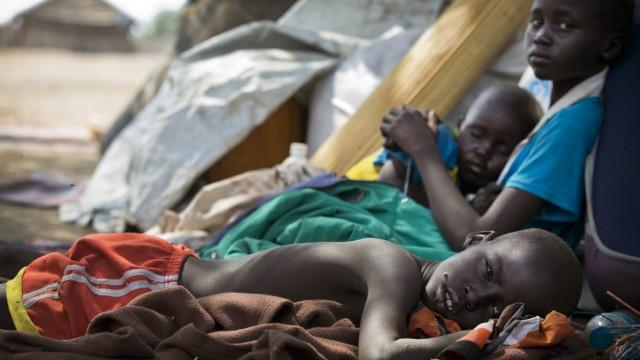 AU Gipfel - Flüchtlinge in Südsudan