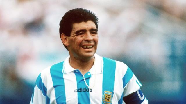 Maradona Dopingfall bei WM 1994