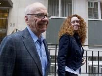 Rupert Murdoch mit Rebekah Brooks