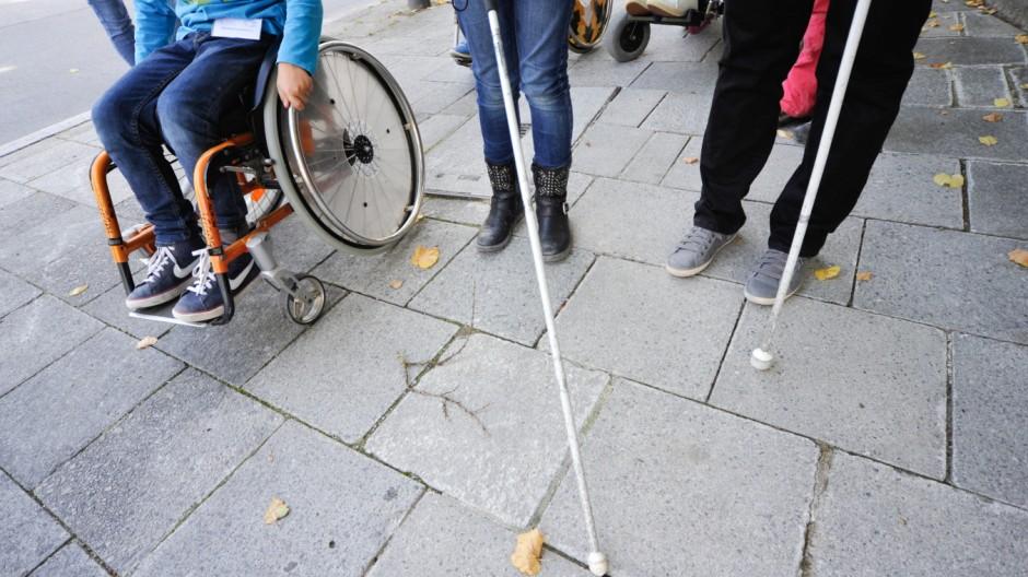 Münchner Kinder engagieren sich für Barrierefreiheit, 2013
