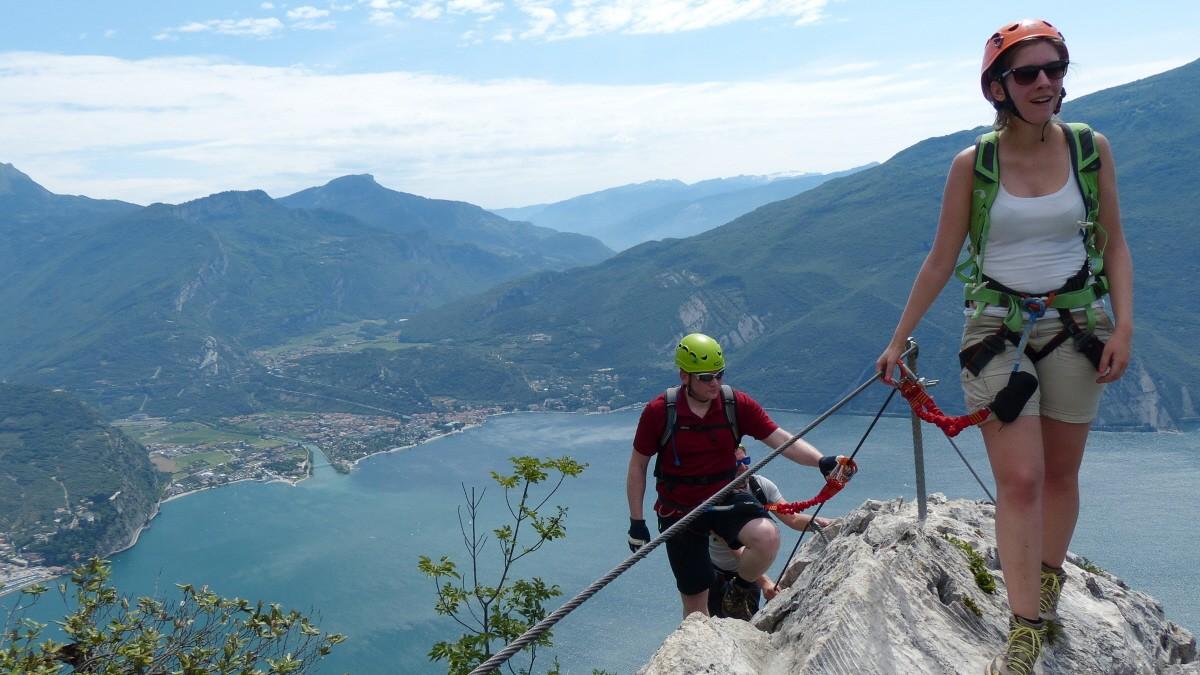 Klettersteig Italien : Cima capi m klettersteig via ferrata fausto susatti