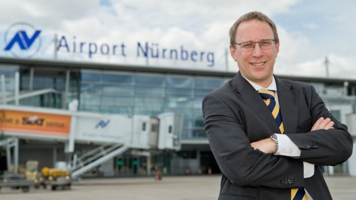 Jahrespresskonferenz Flughafen Nürnberg