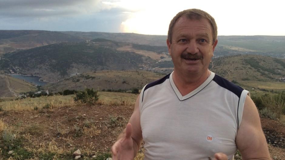 Landkreis Fußball auf der Krim