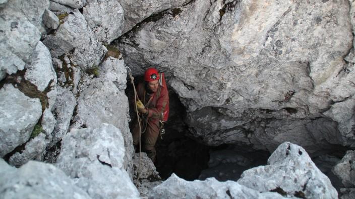 Riesending-Höhle ist zu