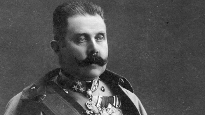 Erzherzog Franz Ferdinand, 1911