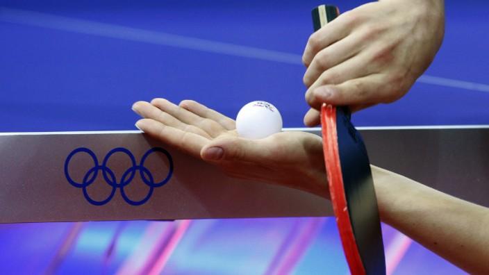 Peking 2008 - Tischtennis Deutschland - Kroatien - Ovtcharov