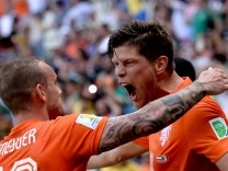 World Cup 2014 - Round of 16 - Netherlands vs Mexico