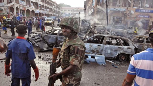 NIGERIA Militäreinsatz gegen Terrorzelle