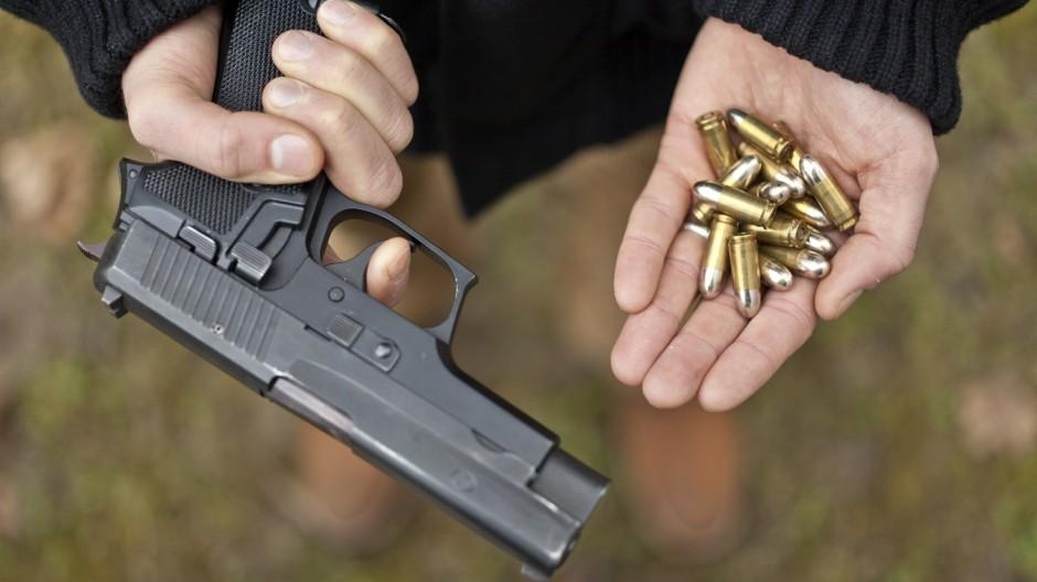 Volksabstimmung zum Waffenrecht; Sig Sauer P2220