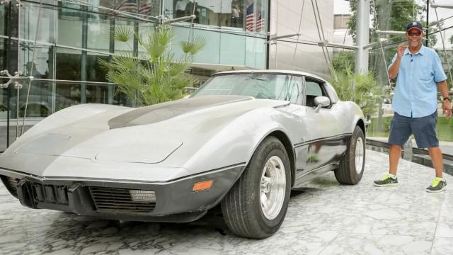 George Talley und seine 79er Corvette.