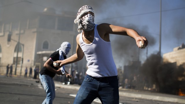 *** BESTPIX *** Clashes In East Jerusalem As Palestinian Teenager Reported Murdered