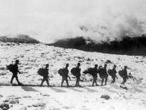 Gebirgskrieg an der Italienfront in Tirol