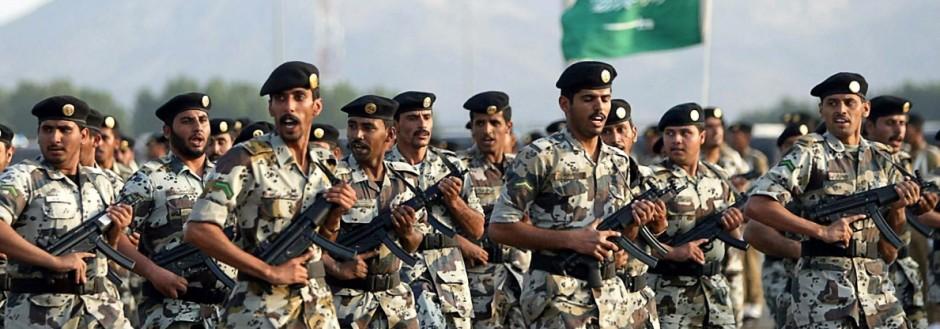 Saudische Soldaten