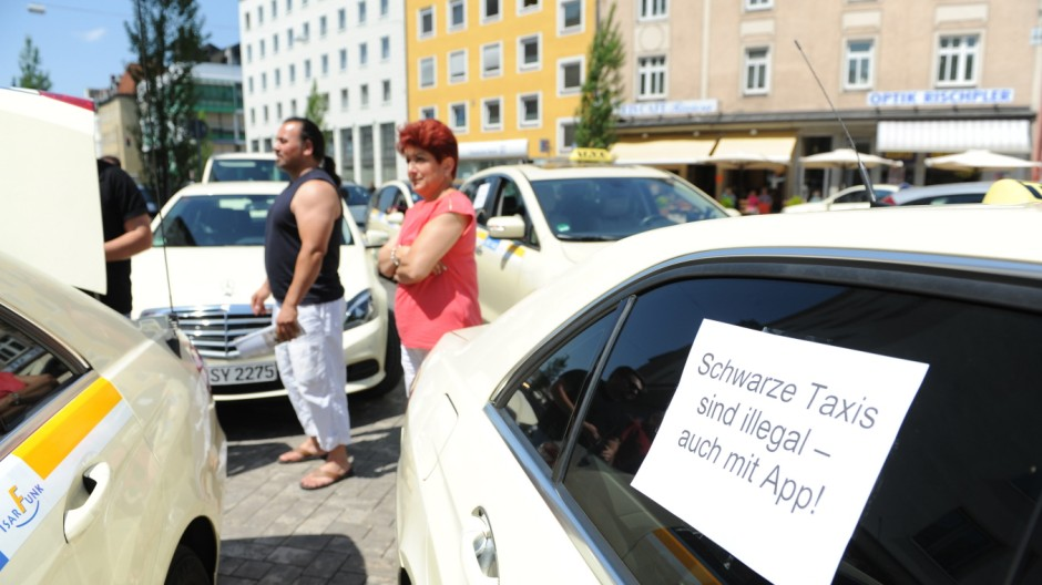 München Kampf um die Fahrgäste