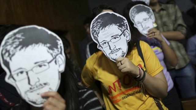 Edward Snowden Whistleblower in den USA