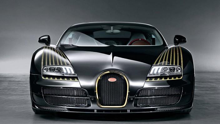 """Die Sonderedition Bugatti Veyron """"Black Bess"""""""